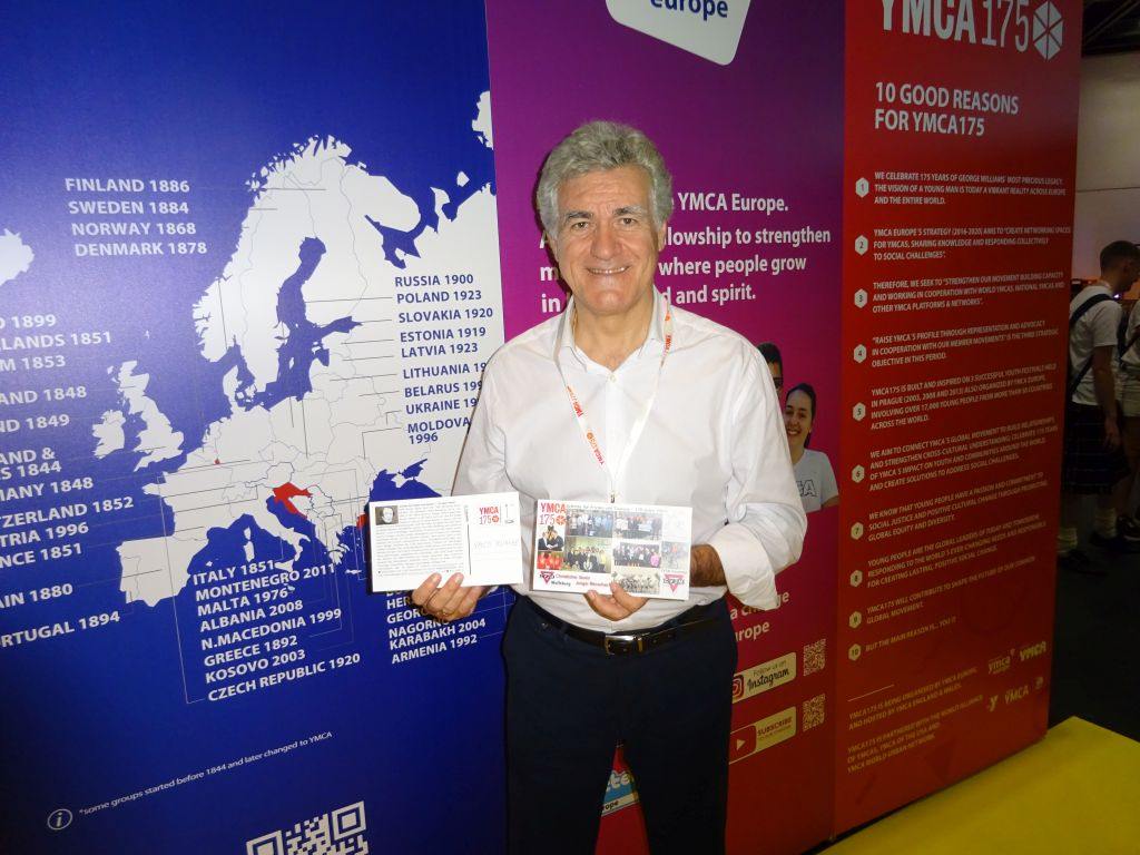 Juan Simoes Iglesias vom europäischen YMCA