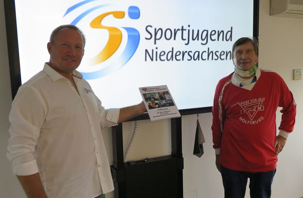Reiner Sonntag von der Sportjugend Niedersachsen