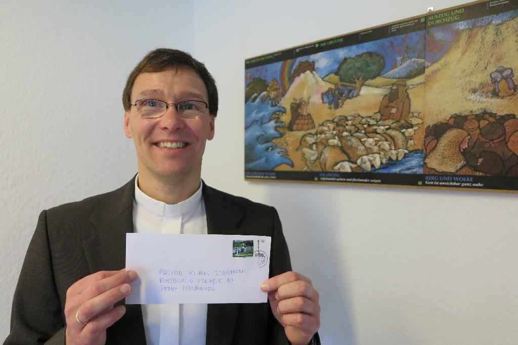 Pastor Klaus Bergmann von der Selbständig evangelisch-lutherischen Kirche St. Michael in Westhagen
