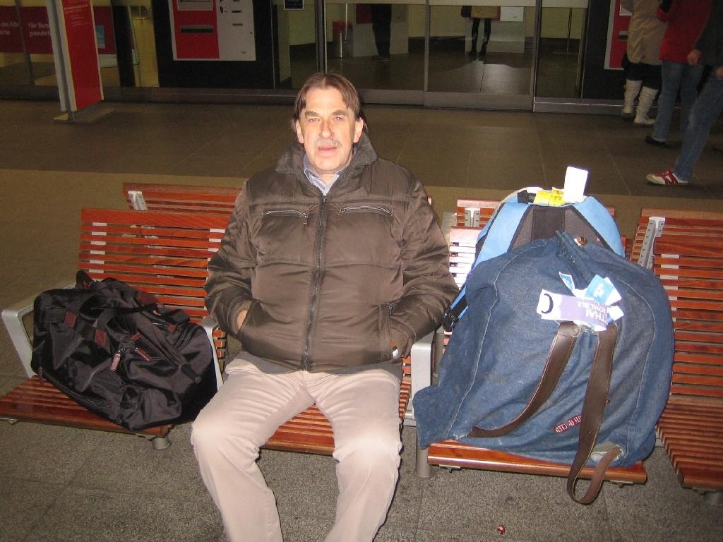 Ferdi, ganz schön viel Gepäck für eine Person