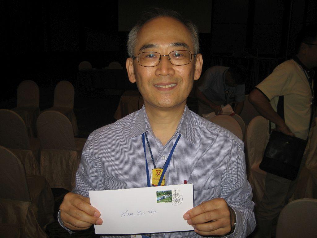 Nam Boo Won Generalsekretär der YMCA Asien und Pazifik Allianz