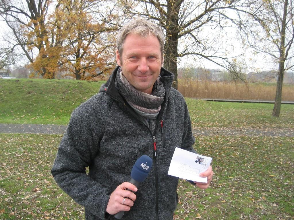 """Jörg Schimmelpfennig von der NDR-Sendung """"Sportland"""""""