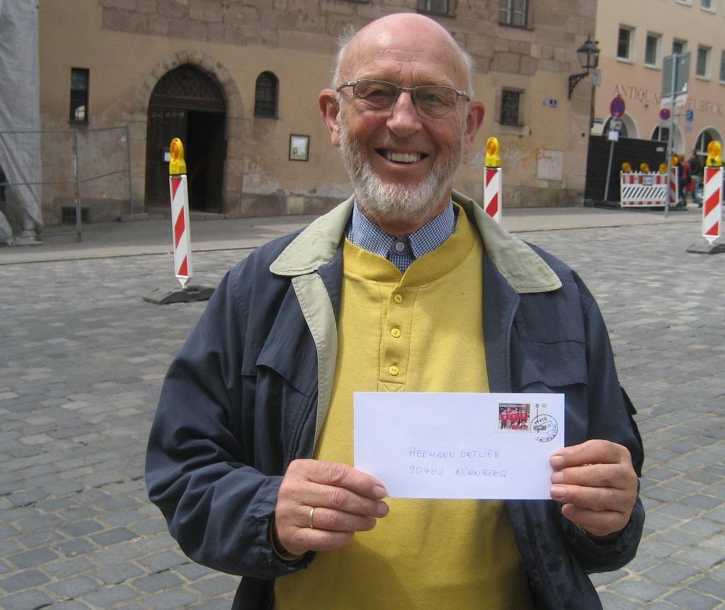 Hermann Ortlieb, ehemaliger Tischtennis-Fachwart im CVJM/Eichenkreuzsport