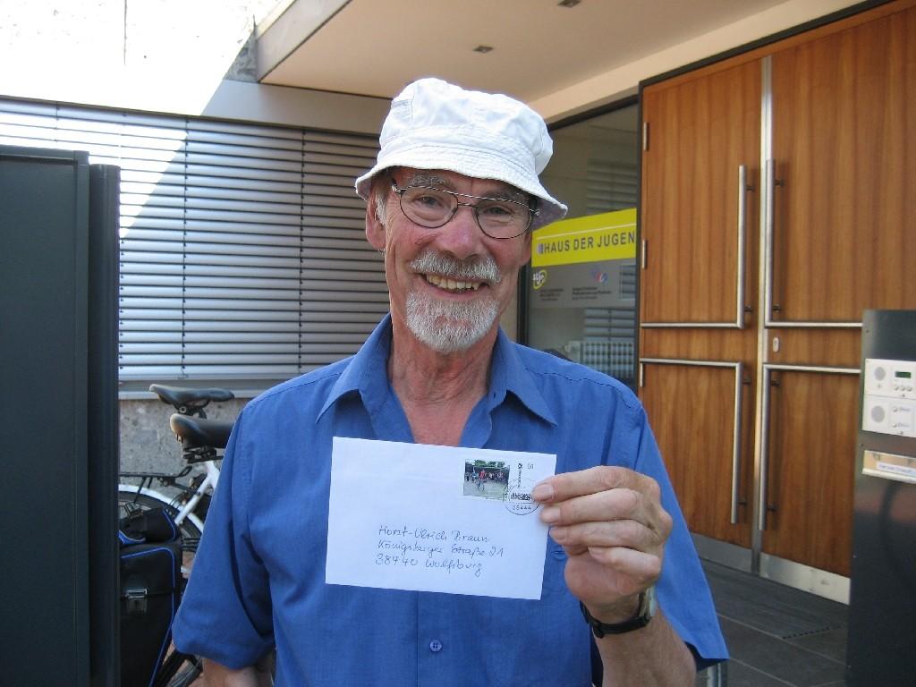 Horst-Ulrich Braun von der CVJM-Sponsorenfahrt