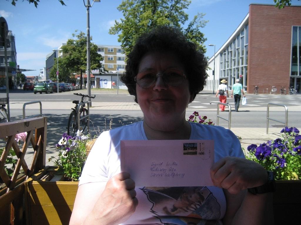 Sigrid Wille vom CVJM Wolfsburg