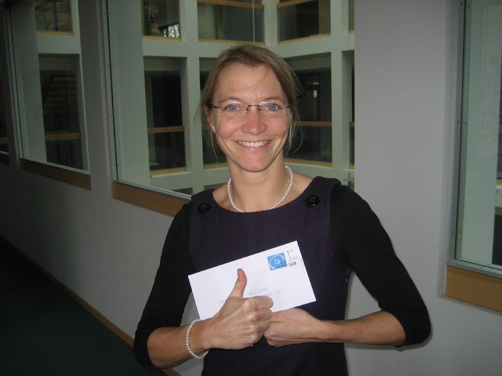 Stefanie Heider vom LandesSportBund Niedersachsen