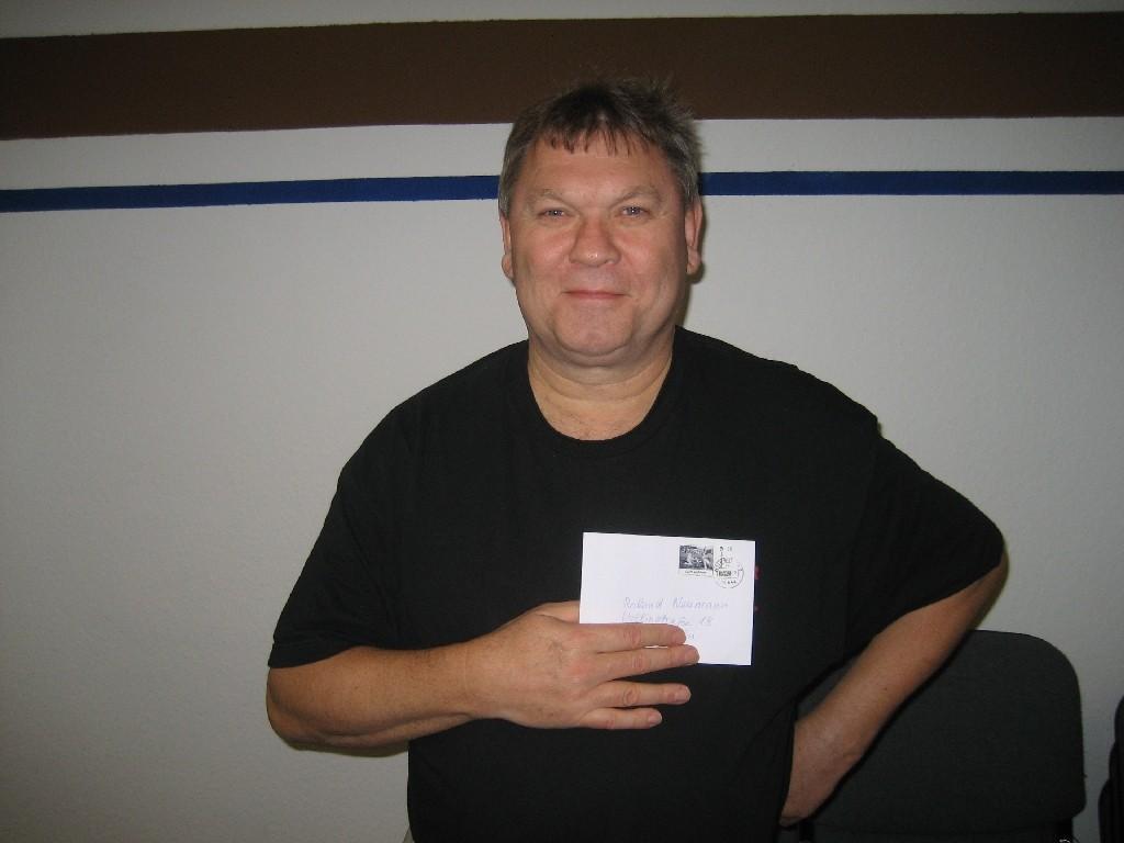 Roland Neumann von der CVJM-Jungschar in der St. Marien-Kirchengemeinde