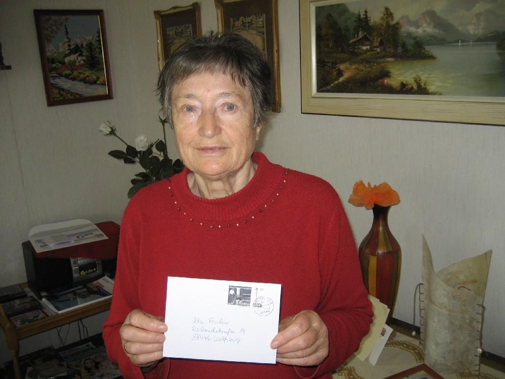 Ida Fischer von der Landsmannschaft der Deutschen aus Russland