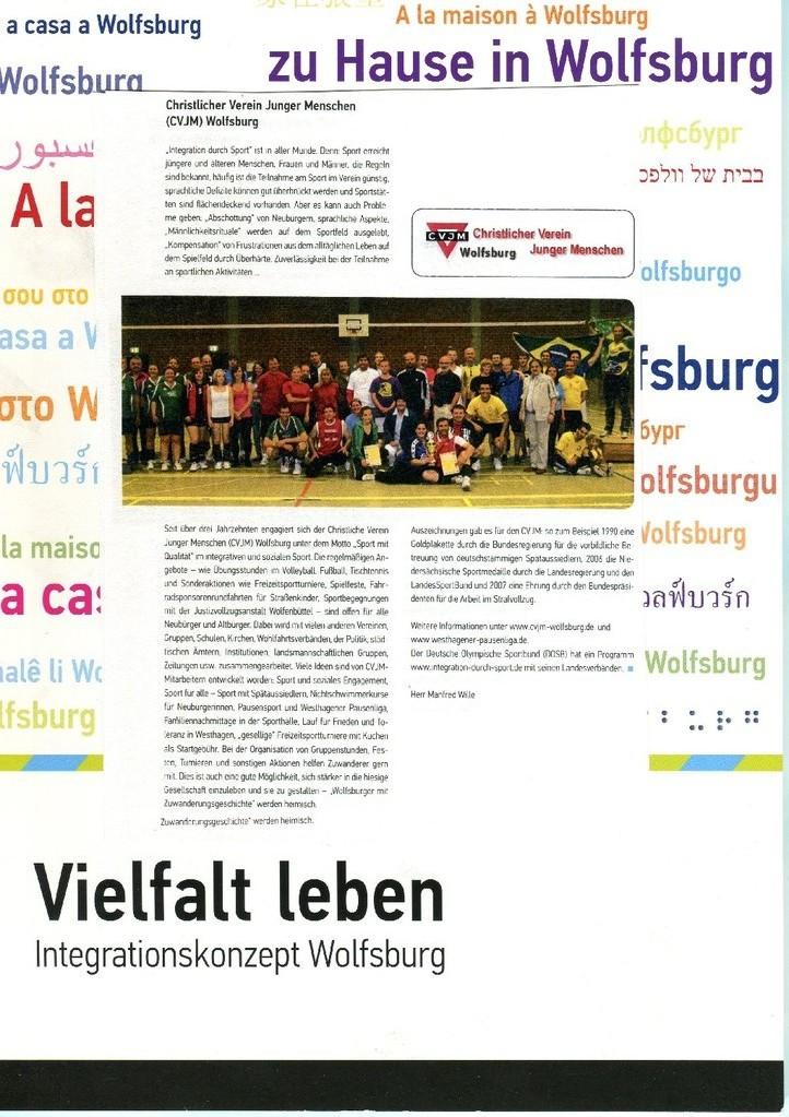 """Das Integrationskonzept der Stadt Wolfsburg """"Vielfalt leben"""""""