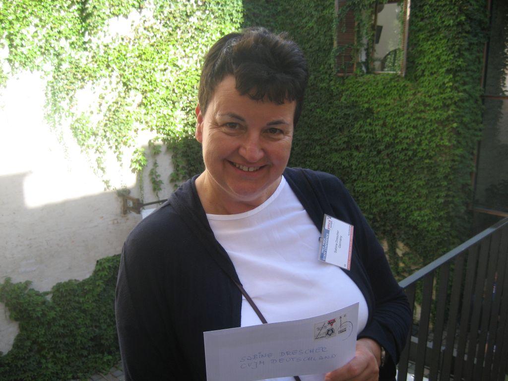 Sabine Drescher von der Vereinigung Hauptamtlicher im CVJM