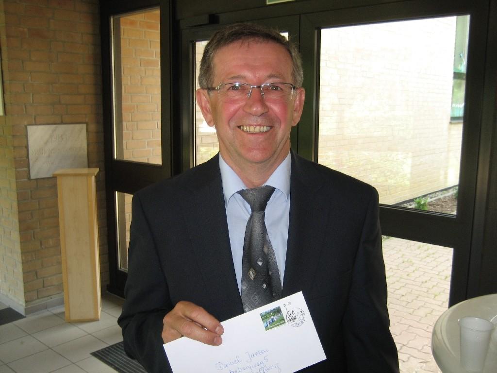 Daniel Janzen, Pastor bei der Westhagener Mennonitengemeinde - einer evangelischen Freikirche