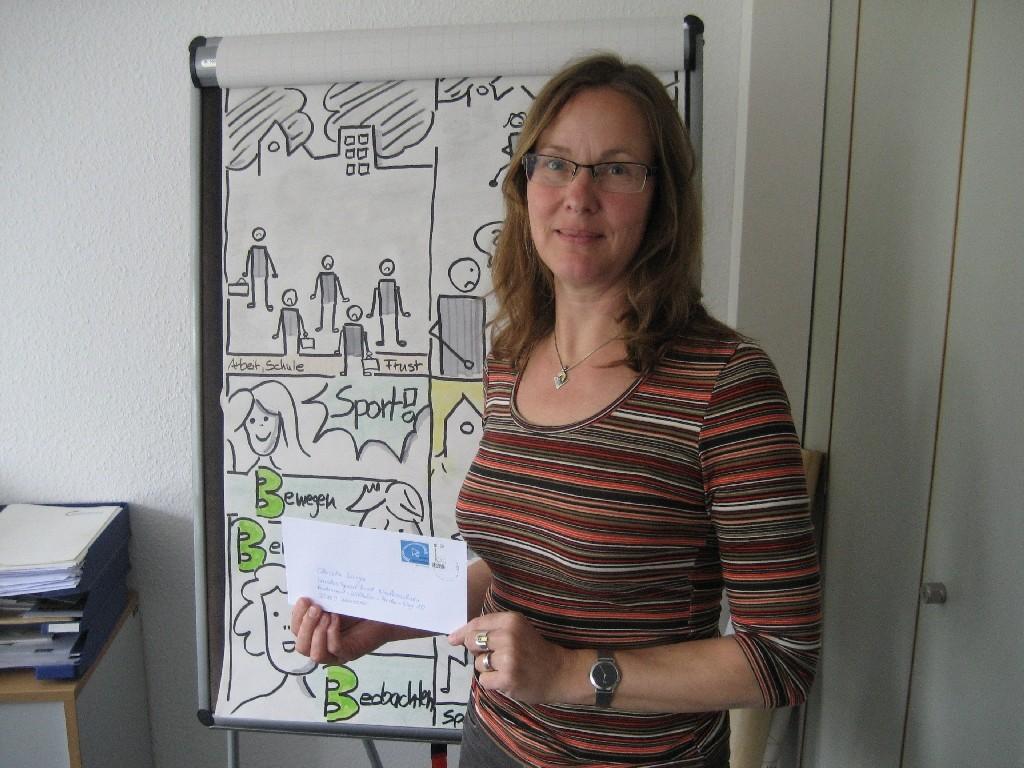 Christa Lange vom LandesSportBund Niedersachsen