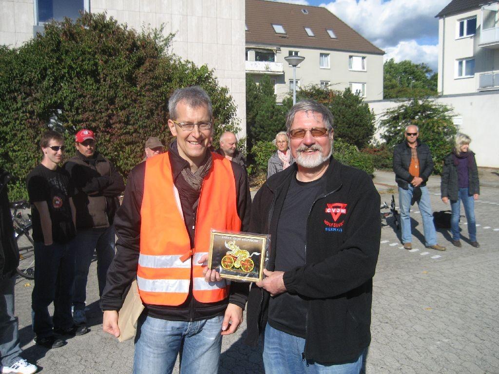 Peter Hanke (rechts) und Michael Meixner