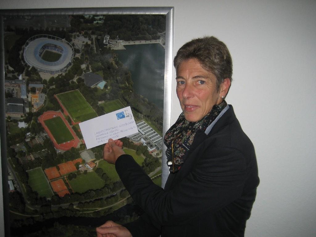 Katharina Kümpel vom LandesSportBund Niedersachsen