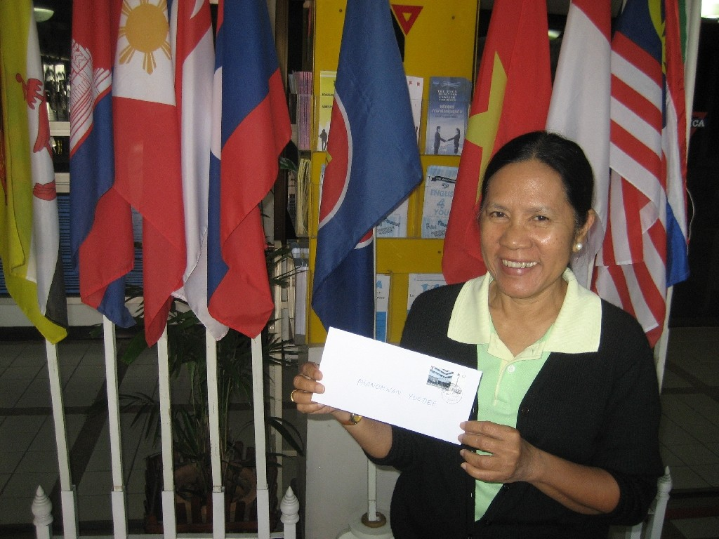 Phanomwan Yoodee vom YMCA Chiang Mai/Nordthailand