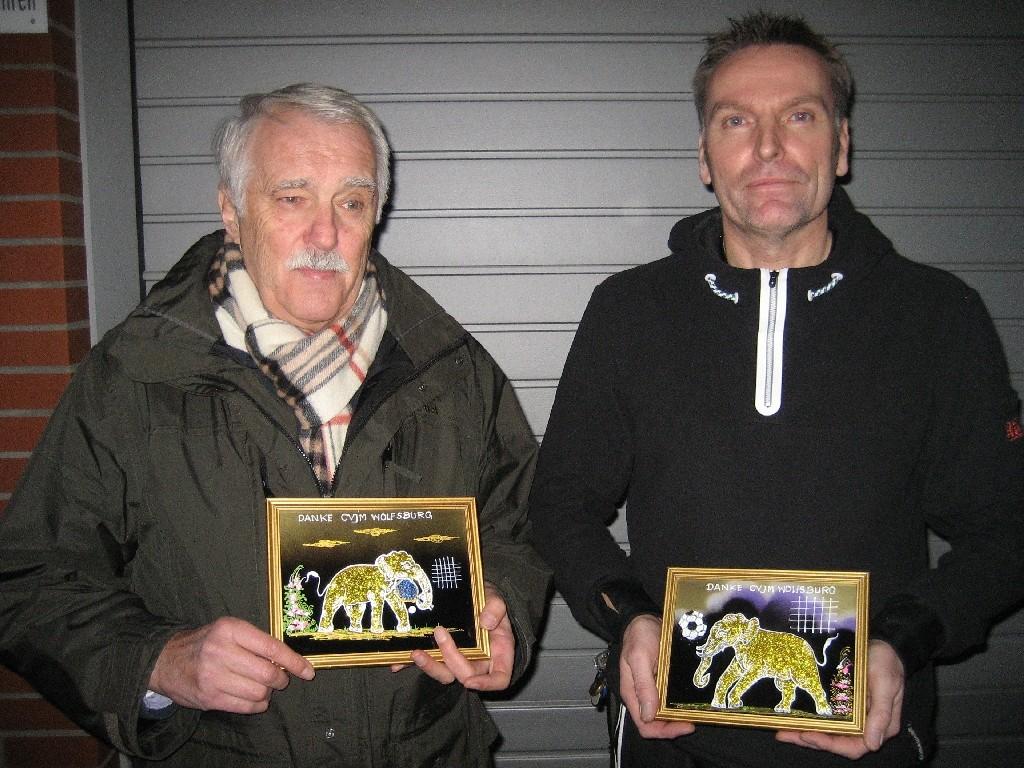 Rudolf Stein (links) und Oliver Grau