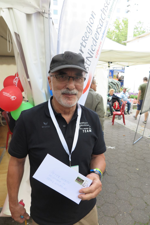Peter Henze vom Stadtsportbund Wolfsburg