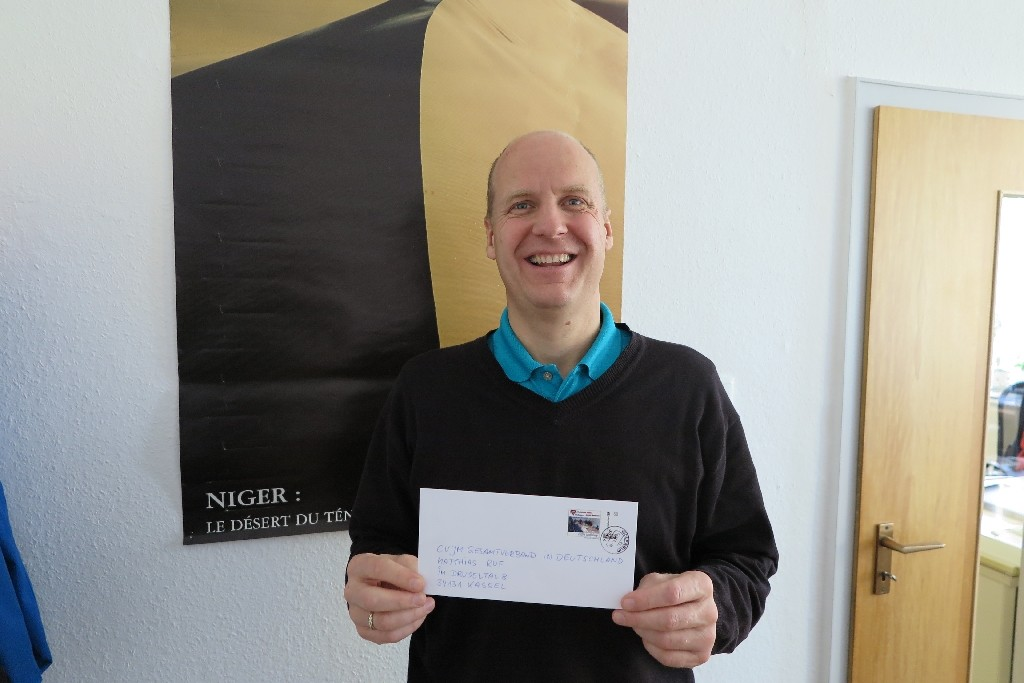 Matthias Ruf vom CVJM Geamtverband in Deutschland