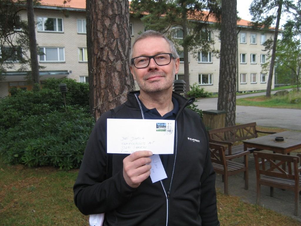Jari Juhola vom NMKY/YMCA Tampere und YMCA Finnland