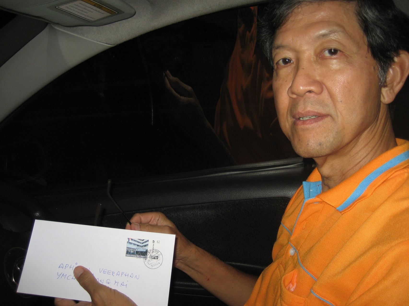 Arphinan Veeraphan vom YMCA und Y's Men's Club Chiang MaiNordthailan