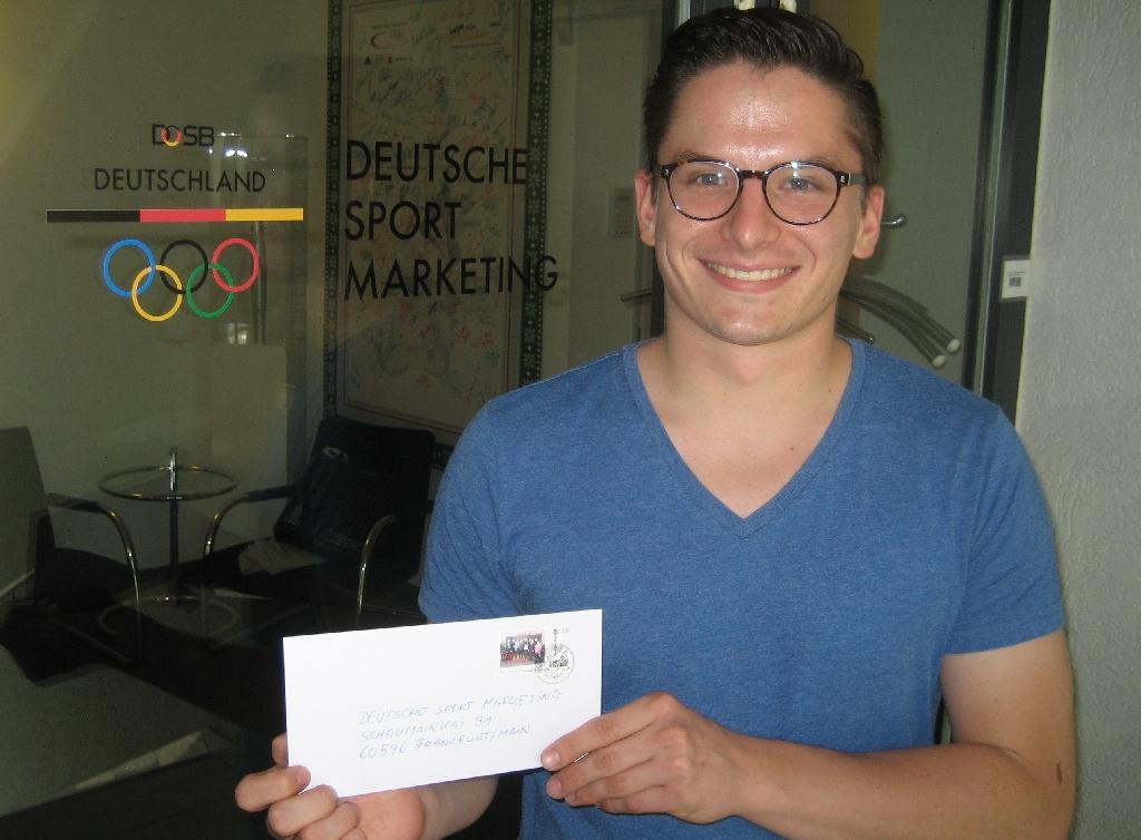 Christian Marquardt von der Deutschen Sportmarketing