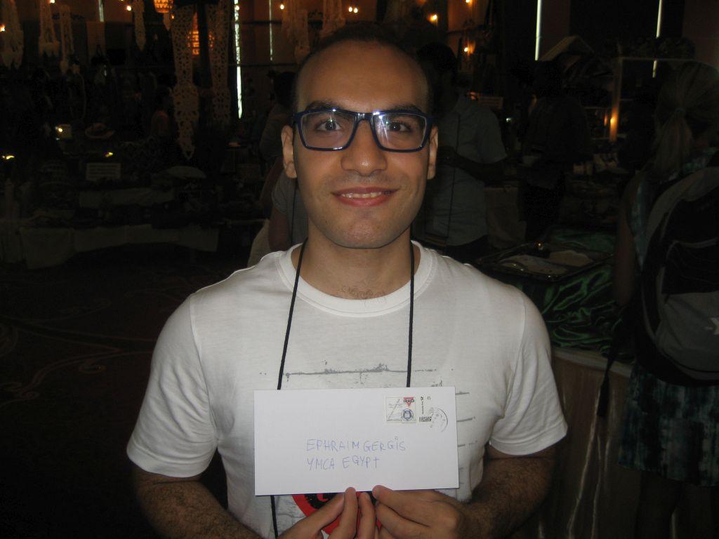 Ephraim Gergis YMCA Ägypten