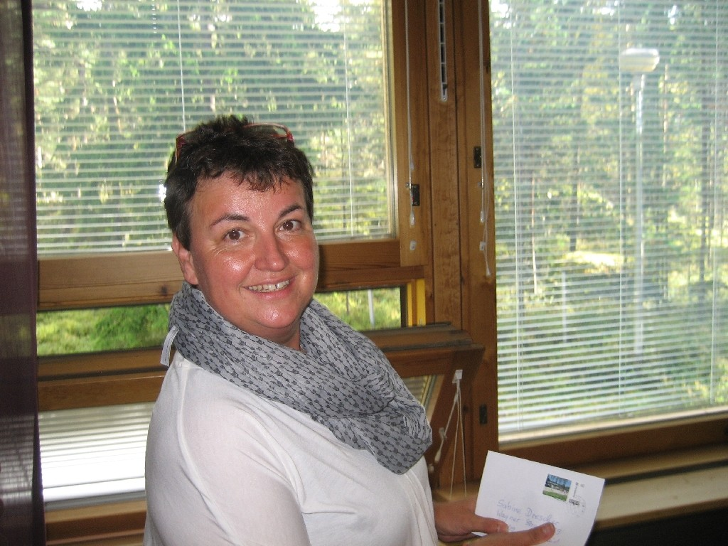 Sabine Drescher von der Vereinigung Hauptamtlicher Mitarbeiterinnen und Mitarbeiter im CVJM Deutschland