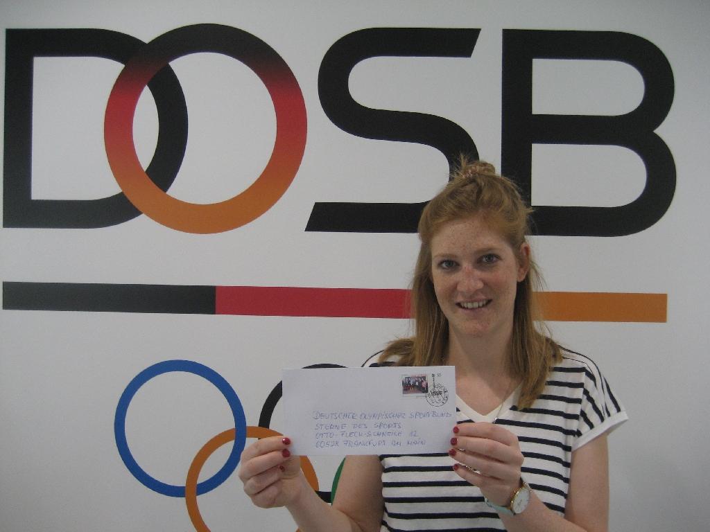 Laura Pschorn von Sterne des Sports des Deutschen Olympischen Sportbundes