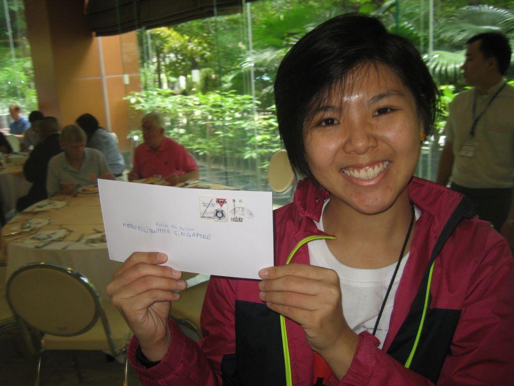 Melissa Poh YMCA Singapur