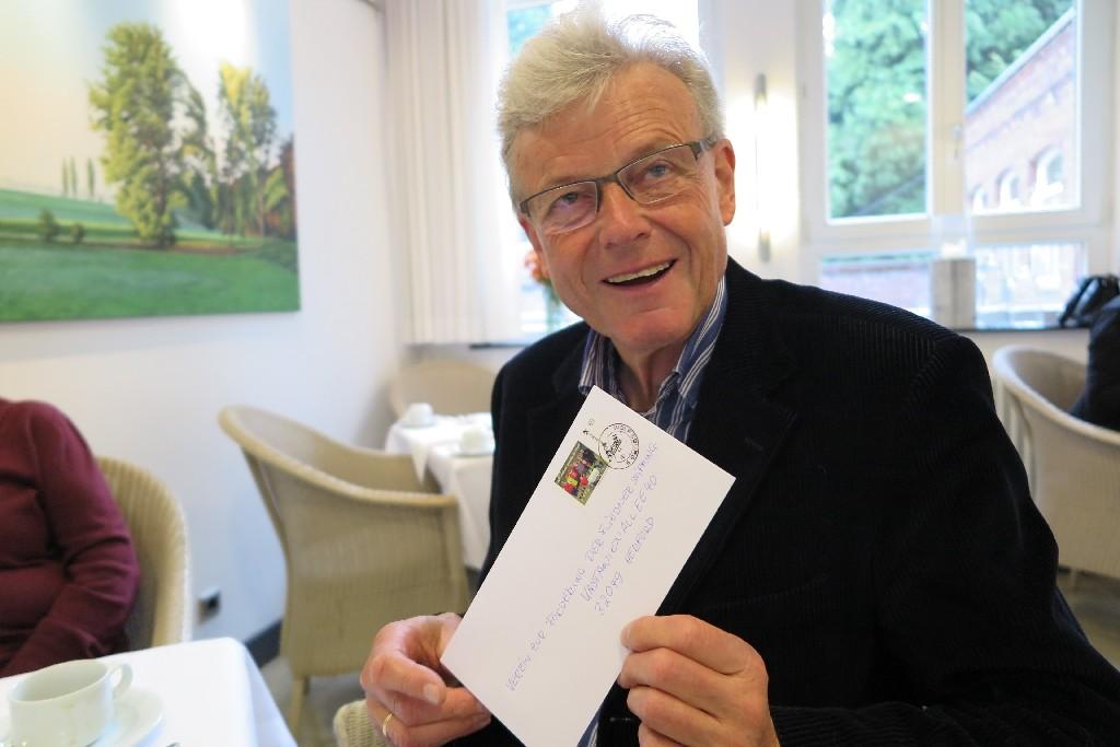 Dr. Wolfgang Otto vom Verein zur Förderung der Fliedner Stiftung