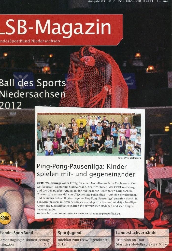 Mitteilungen des LandesSportBundes Niedersachsen