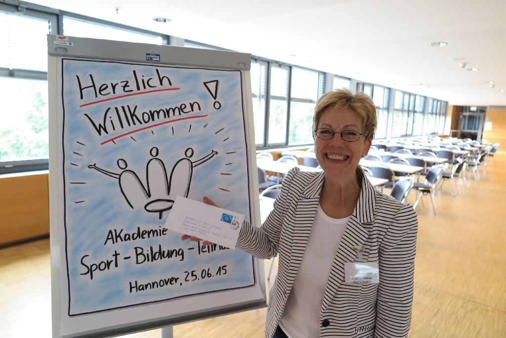 Dagmar Krause von der Akademie des Sports im LandesSportBund Niedersachsen