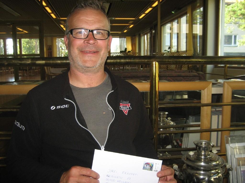 Jyrkin Eräkorpi vom YMCA/NMKY Helsinki und YMCA Finnland