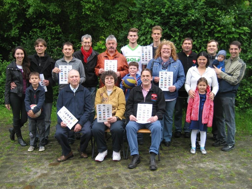 Engagierte und Helferinnen und Helfer vom CVJM Wolfsburg
