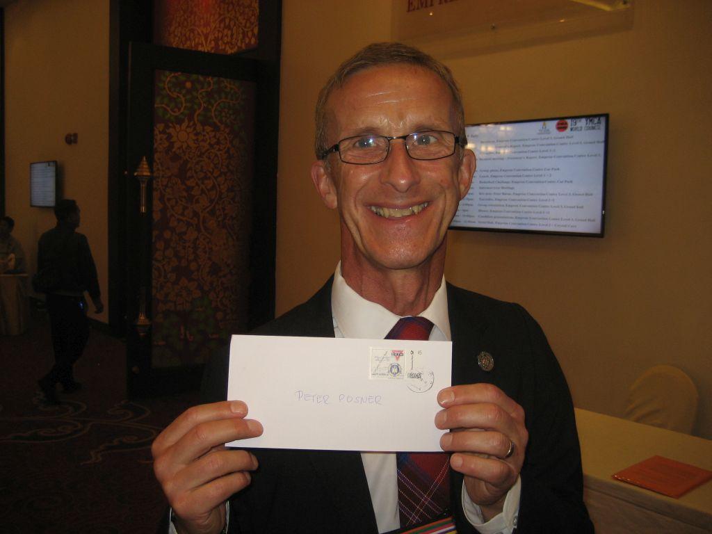 Peter Posner YMCA World Alliance
