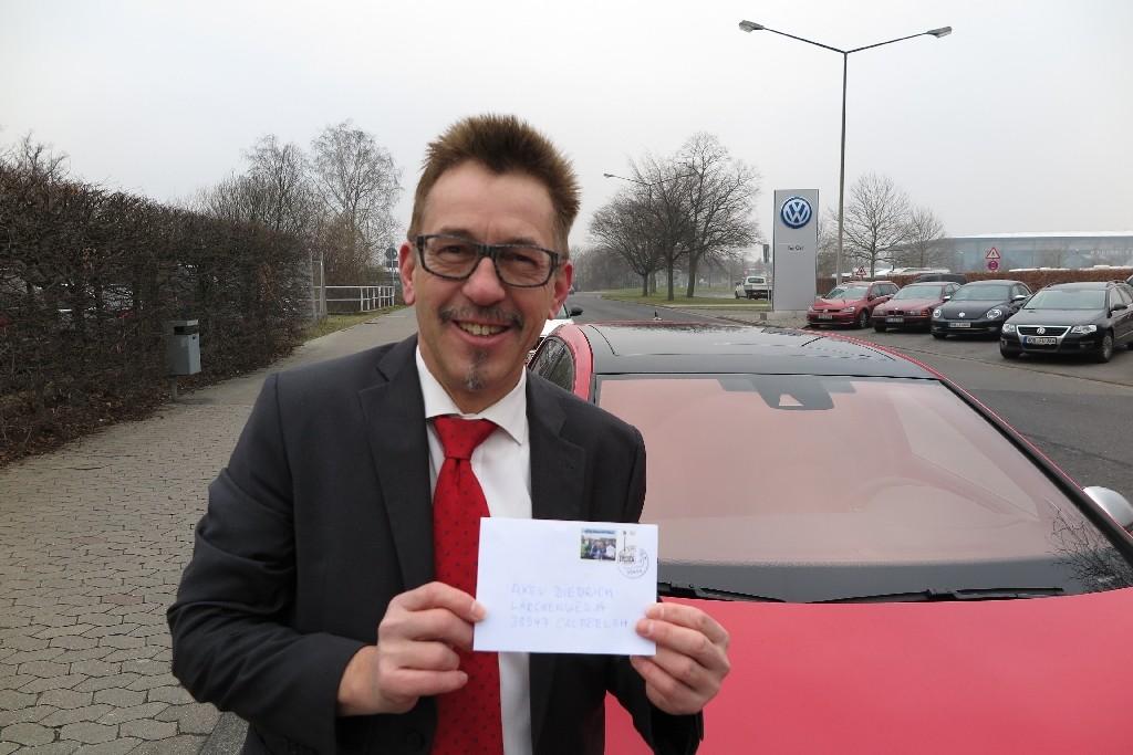 Axel Diedrich von der Volkswagen-Sportkommunikation