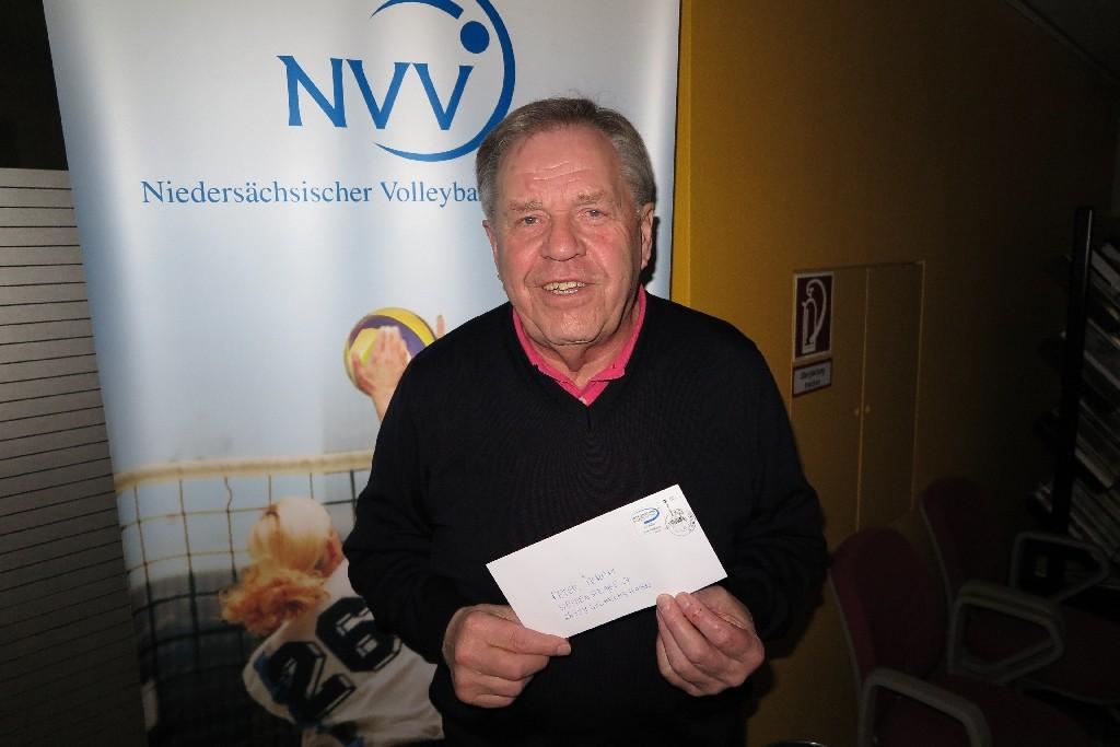 Peter Ibrom vom Niedersächsischen Volleyball Verband