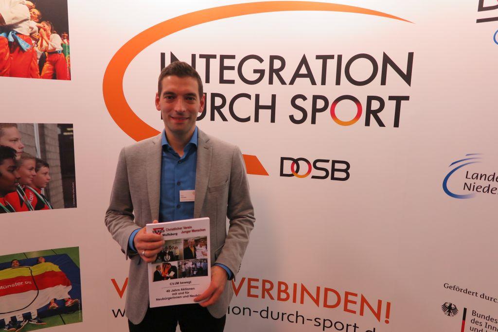 Roy Gündel vom LandesSportBund Niedersachsen