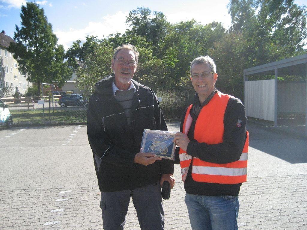 Horst-Ulrich Braun (links) und Michael Meixner