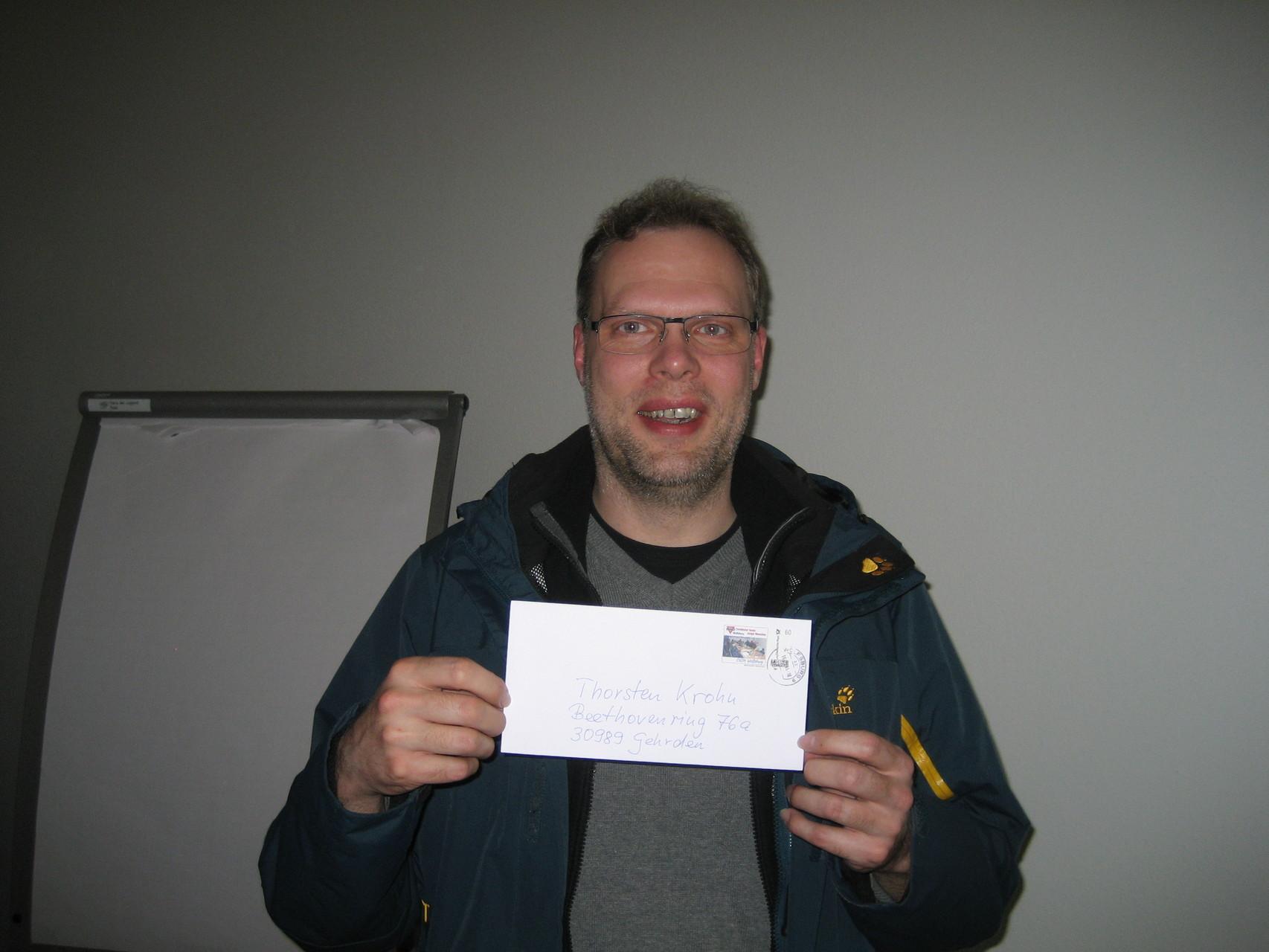 Andreas Krohn vom CVJM Landesverband Hannover