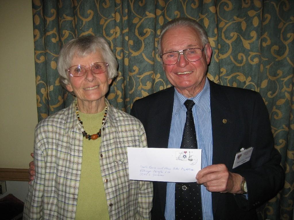 Marie-Luise und Hans-Peter Matthies von der CVJM-Senioren-Initiative