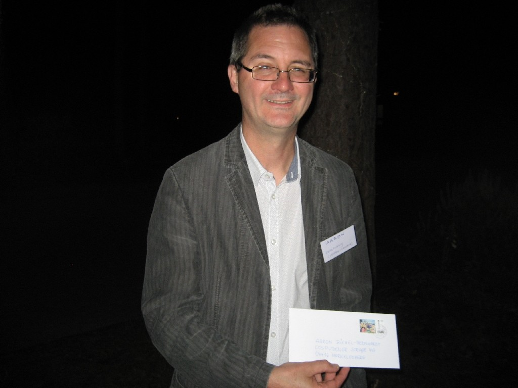 Aaron Büchel-Bernhardt vom CVJM Leipzig und von der Vereinigung Hauptamtlicher Mitarbeiterinnen und Mitarbeiter im CVJM Deutschland