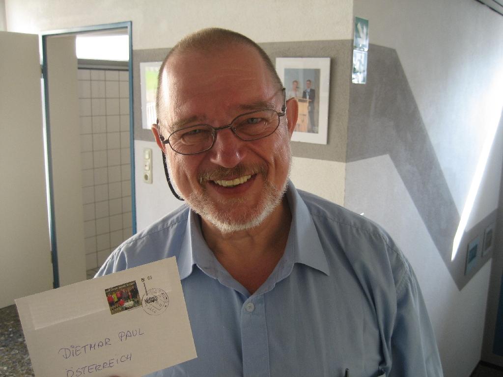 Dietmar Paul vom CVJM/YMCA Österreich