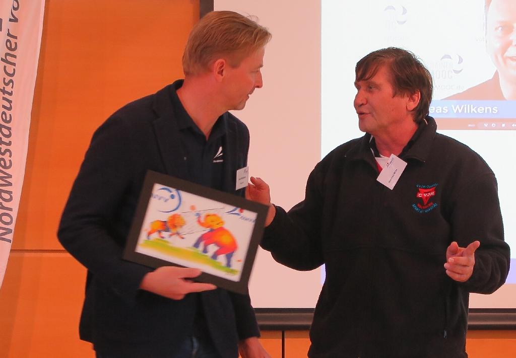 Heinz Wübbena (links) und Manfred Wille