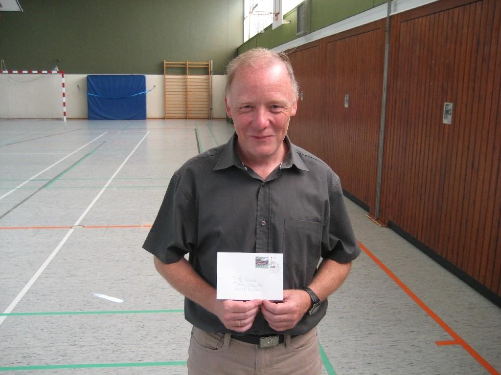 Dirk Kinne von der Hans-Christian-Andersen-Grundschule (Westhagener Pausenliga)