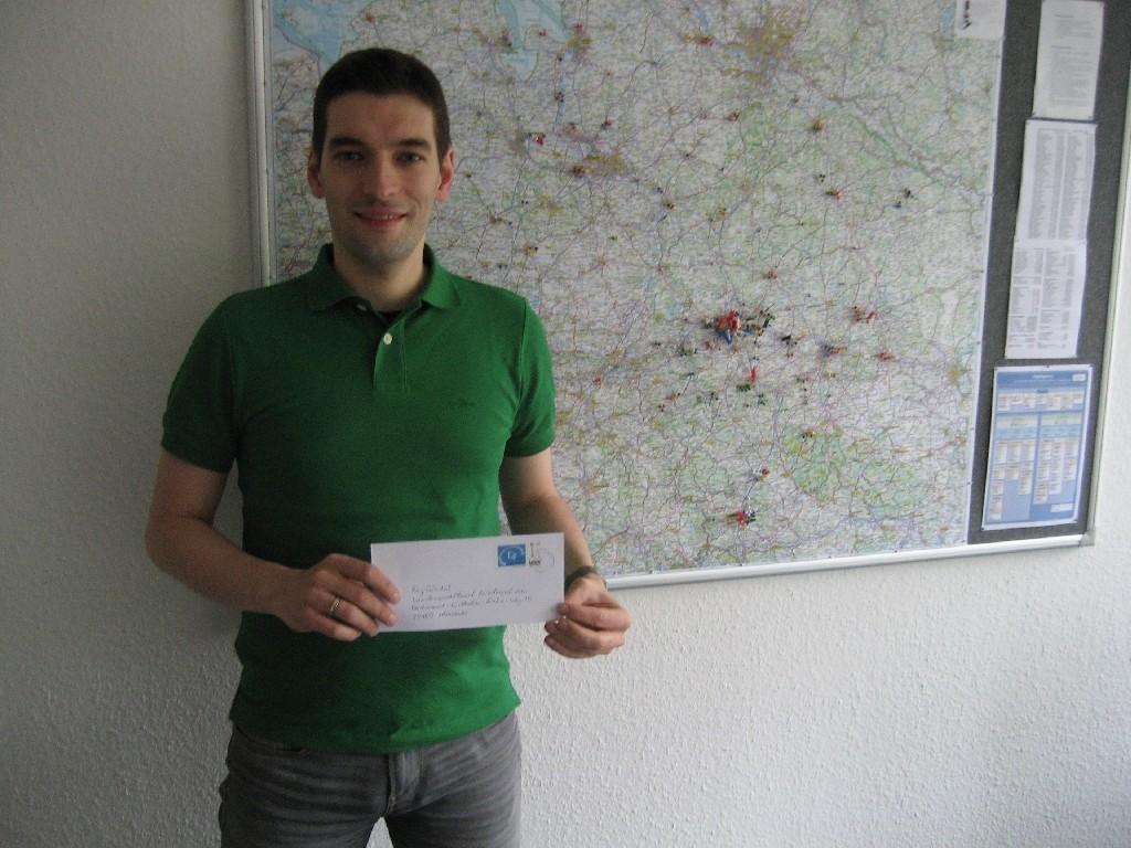 """Roy Gündel (""""Sport integriert Niedersachsen"""" vom LSB Niedersachsen)"""
