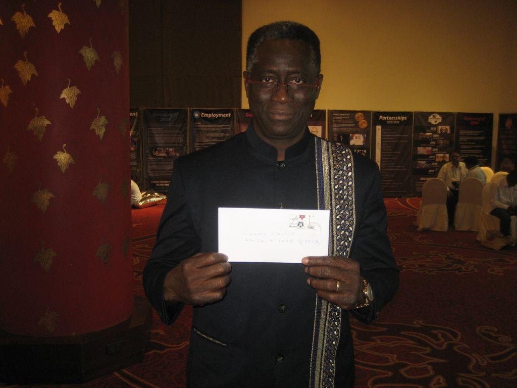 Carlos Sanvee YMCA Africa