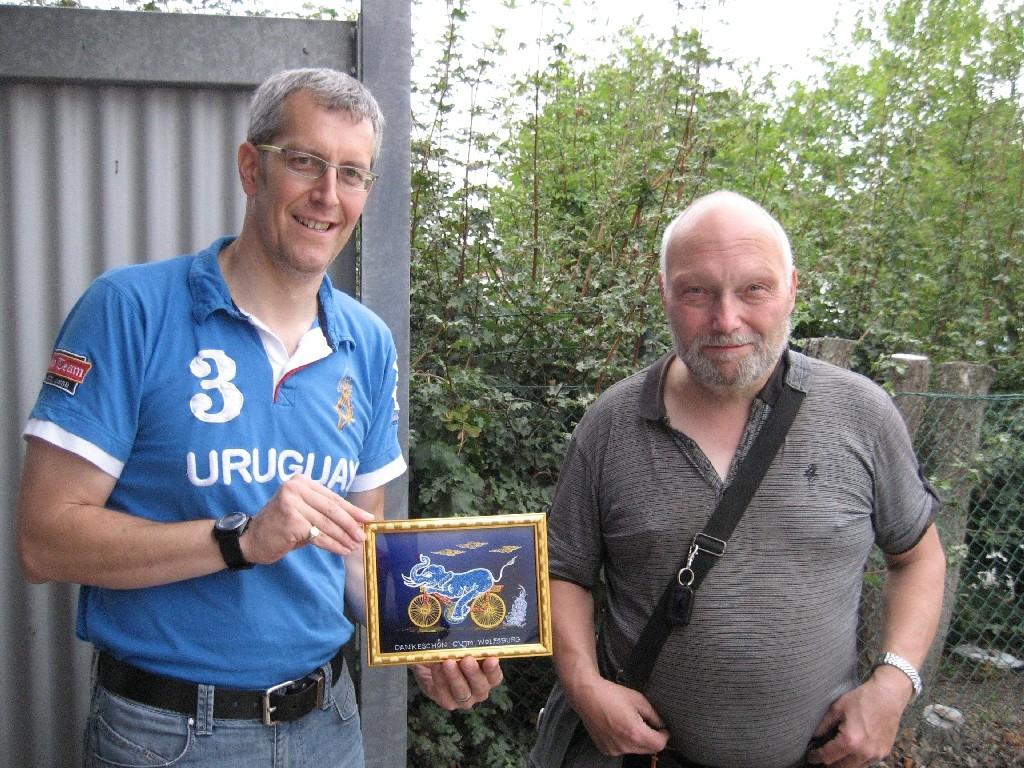 Klaus Brandl (rechts) und Michael Meixner