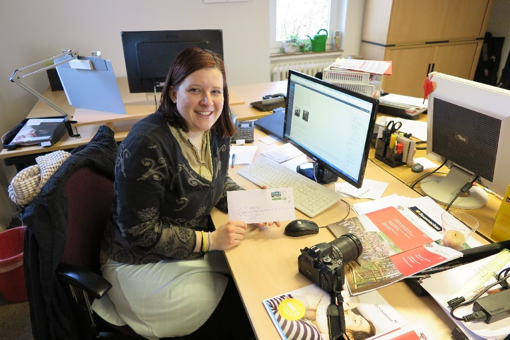 Lydia Hertel vom CVJM-Blog und CVJM-Gesamtverband in Deutschland