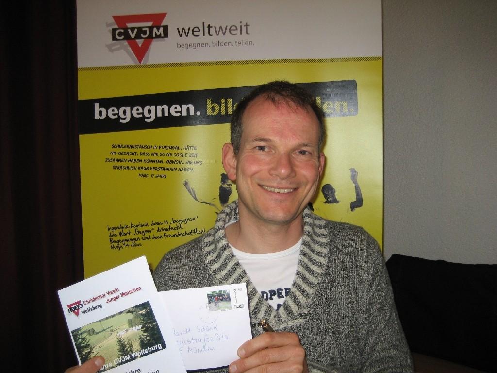 Dr. Reinhardt Schink vom deutschen CVJM